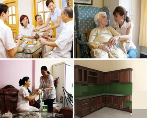 Dịch vụ giúp việc chăm sóc ông bà cha mẹ tại Hà Nội thật thà