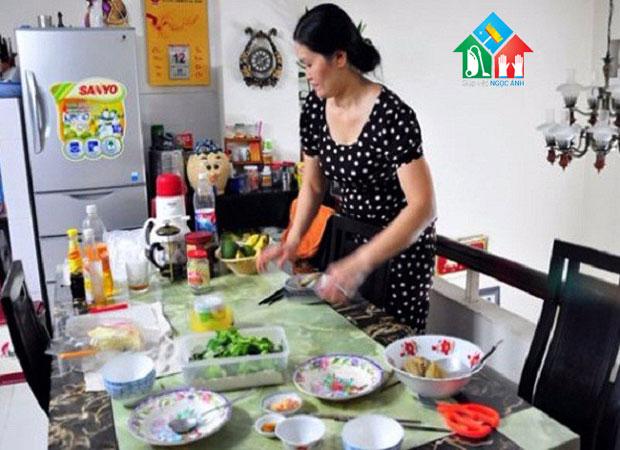 Giúp việc ăn ở lại tại Hà Nội hiền lành chăm chỉ