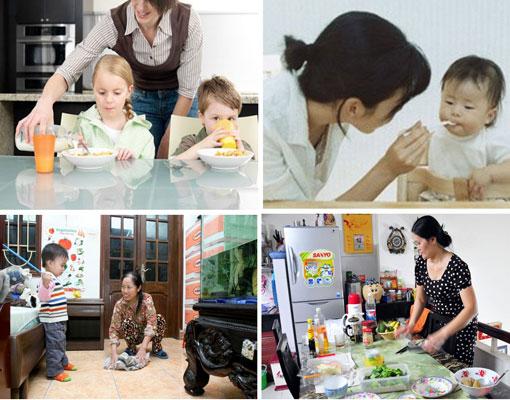 Giúp việc chăm sóc trẻ em tại Hà Nội chăm chỉ nhiệt tình
