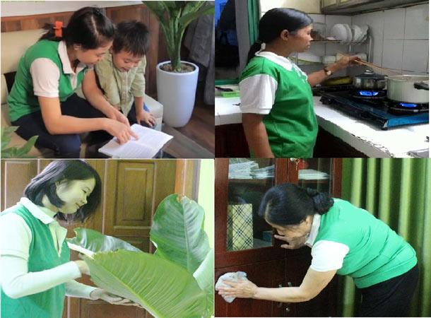 Giúp việc gia đình tại Hà Nội chăm chỉ tận tình
